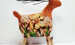 1 Юско Олександра 9р. Диво-звір, скульптура, глина Викл. Фірцак Т.Ю.