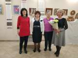 Відкрилася виставка «Барви чотирьох» робіт членів Національної спілки майстрів народного мистецтва України, ювілярок Людмили Губаль, Ганни Когутки, Марії Купарь і Наталії Стегури