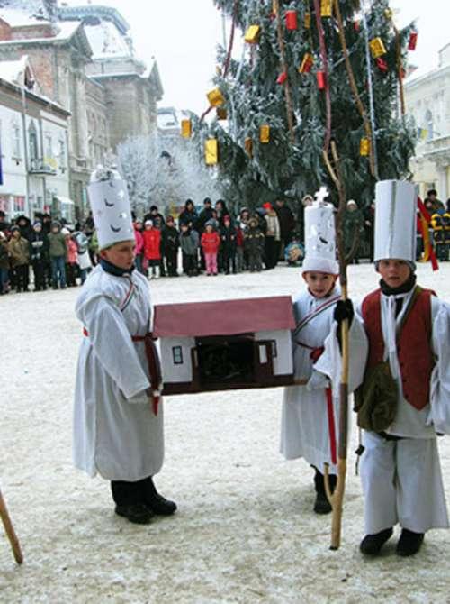 Традиції колядування в с. Чома Берегівського району