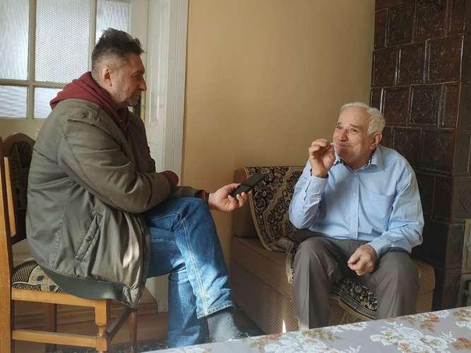 Михайло Глюдзик - носій народнопоетичної творчості із Худльова