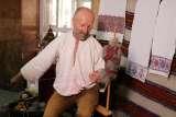 23 серпняна Рахівщині Микола Кокіш провів майстер-клас з традиційного вовноткацтва