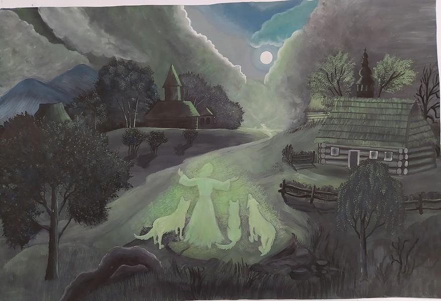 Обласний дитячо-юнацький конкурс образотворчого мистецтва «Легенди Карпат»