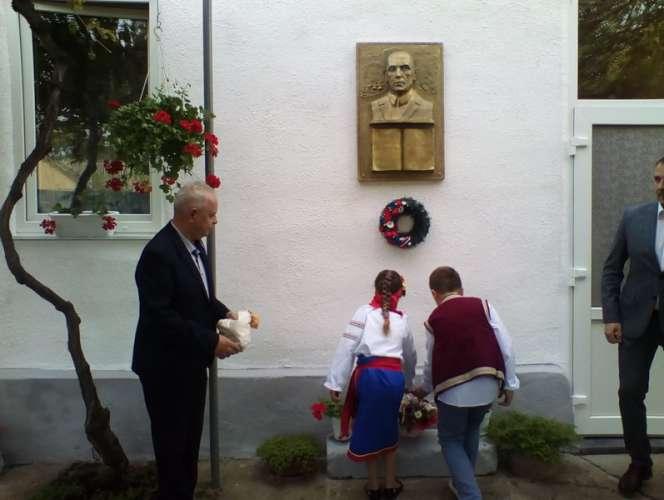 У Середньому відкрили меморіальну дошку відомому чеському фольклористу Мілану Ліхарду