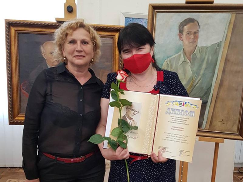 Віра Мадяр-Новак – лауреат обласної премії імені Дезидерія Задора