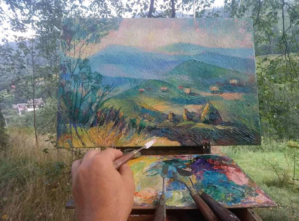 Художники малюватимуть краєвиди Великоберезнянщини