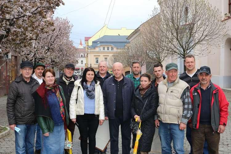Художники малювали весняний Ужгород