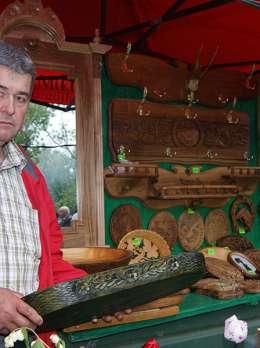 Традиції різьби по дереву  с. Нове Село Виноградівського району