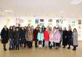 20 січня в галереї «Ужгород» відбулося урочисте відкриття експозиції творів, виконаних учнями мистецьких шкіл області